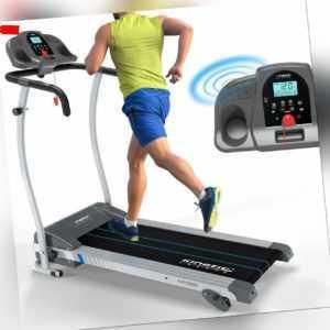 Laufband Handpulssensor LCD Display Heimtrainer Fitnessgerät 1100W 12 km/h 120kg