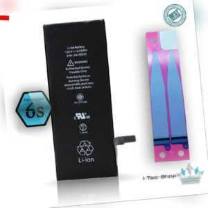 Ersatz Akku für Original Apple iPhone 6s mit Klebepads -1715mAh Batterie