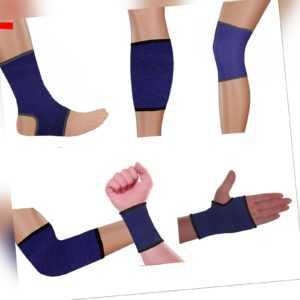 2 Stück Sportbandage Stützbandage Ellenbogen Knie Fuß Handgelenk Hand Bandage