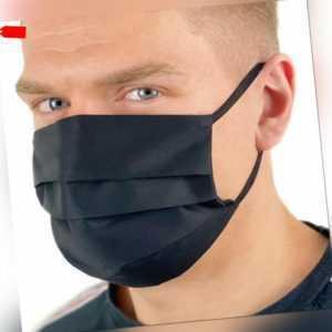 Behelfsmaske Stoffmaske Gesichts Nasen Mund Maske Baumwolle Mundbedeckung
