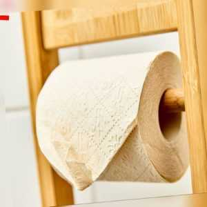 96 Rollen je 200 Blatt - Bambus Klopapier Toilettenpapier WC-Papier 3 lagig