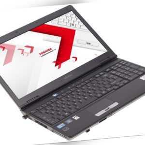 """Toshiba Satellite S500 Notebook 15"""" i3-350M (2x2.27GHz) 4GB RAM 120GB SSD"""