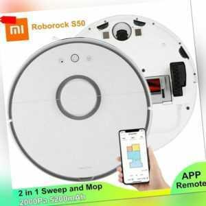 Xiaomi Roborock S50 Saugroboter Staubsauger Roboter 5200mAh 2000Pa APP Steuerung