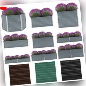 vidaXL Pflanzkübel Blumenkasten Pflanzkasten Hochbeet Garten mehrere Auswahl