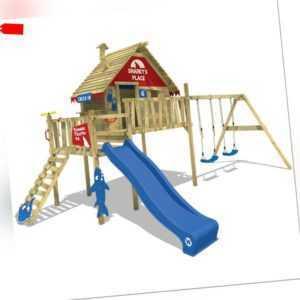 WICKEY Spielturm Baumhaus Stelzenhaus Smart Bay mit Doppelschaukel