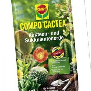COMPO CACTEA® Kakteen- und Sukkulenten Erde 10 Liter