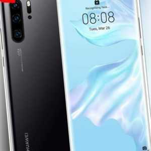 Huawei P30 Pro Dual SIM 128GB 6GB RAM VOG-L29 Schwarz ohne Simlock...