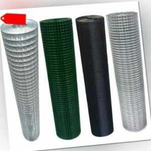 Maschendraht 4-Eck Drahtgitter Volierendraht verzinkter Stahl riesige Auswahl