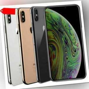 APPLE IPHONE XS 64GB SCHWARZ SPACE GREY WEIß SILBER GOLD TOP soweit vorrätig