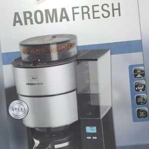 MELITTA 1021-01 AromaFresh, Kaffeemaschine Display Schwarz...