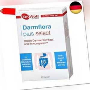Darmflora plus select   hochdosierte Bakterienkulturen 48 Mrd/T80 St (80 St)