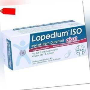LOPEDIUM akut ISO bei akut.Durchf. Brausetabletten 10 St 00213977