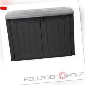 Fahrradbox Gerätebox Mülltonnenbox Gartenbox Mehrzweckschrank Kiste Aufbewahrung