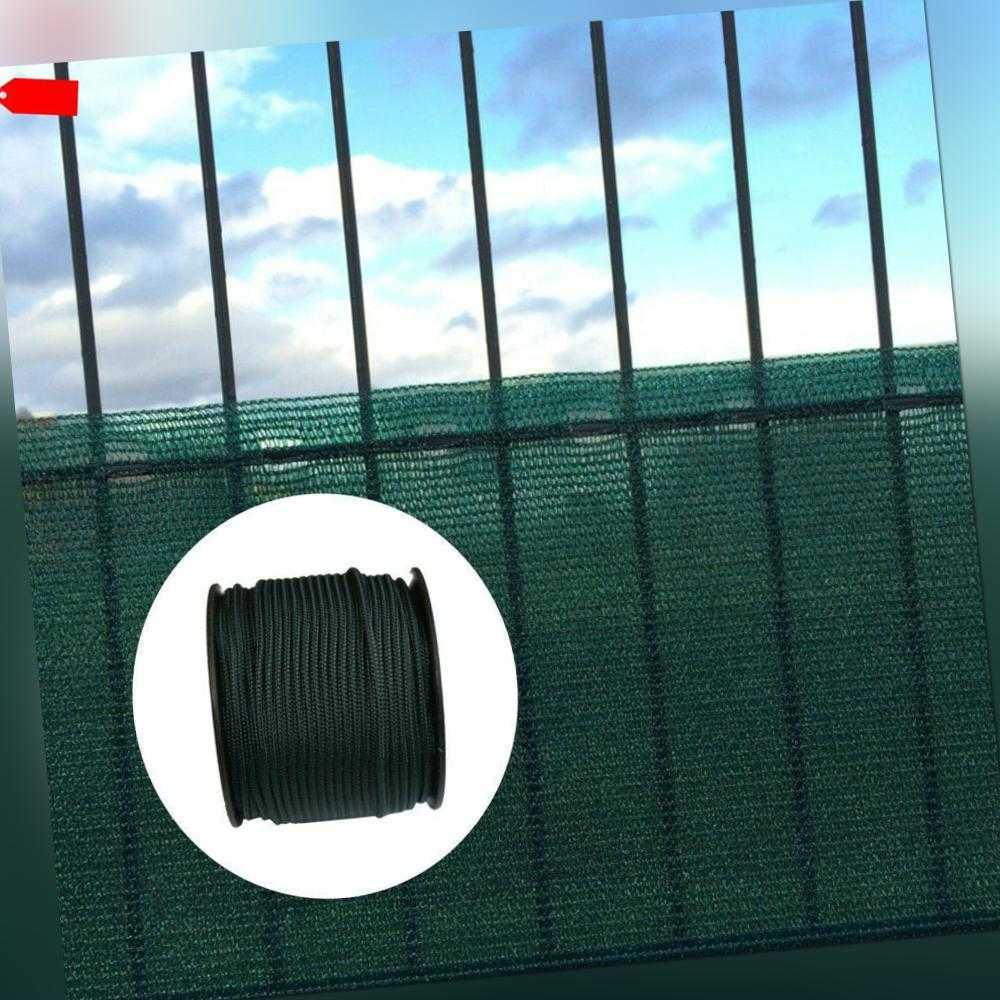Sichtschutz Windschutznetz 1,8 x 50m inkl. Befestigungskordel Schattiernetz