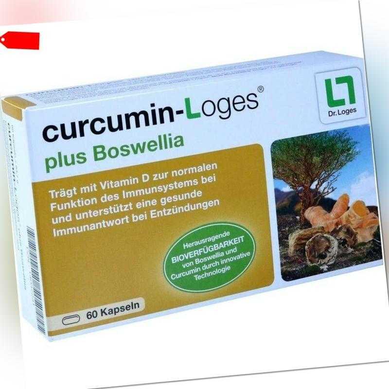 CURCUMIN-LOGES plus Boswellia Kapseln   60 st   PZN14037231