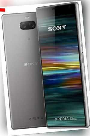 Sony Xperia 10 Plus (I4213) Dual-SIM silver gebraucht GUT vom...