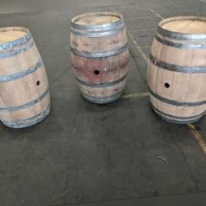 Weinfass 225 Liter, Bar, Tisch, Regentonne, Gebraucht aus Spanien, La Rioja!