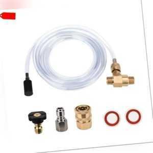 Hocruckreiniger Chemical Injector Kit Einstellbarer Seifenspender, 3/8 Zo W9H3