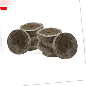 25 - 1000 Jiffy Torfquelltopf Jiffy-7 41mm Anzuchtballen Substrattabletten