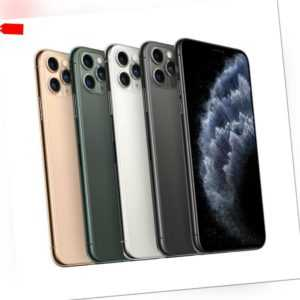 Apple iPhone 11 Pro Spacegrau Gold Silber Midnight 64 256 512GB Ohne Simlock WOW