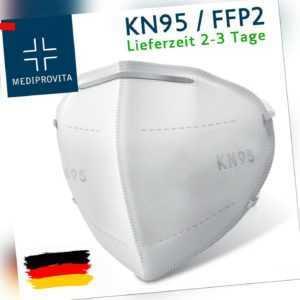 FFP2 N95 Atemschutzmaske Mundschutz Schutzmaske Atemschutz Maske Filter Gesicht