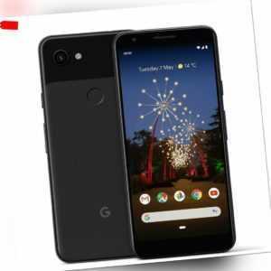 Google Pixel 3A 64GB Just Black Smartphone Händler ohne Vertrag NEU OVP ❤️5