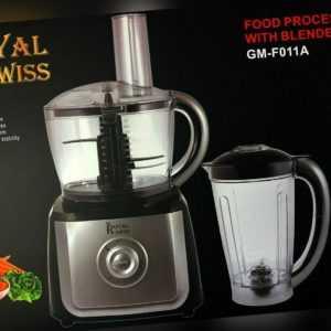 Royal Swiss 2 in 1 Küchenmaschine mit Mixer Blender 700 W
