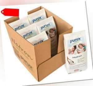 Purux Natron 6kg Natriumhydrogencarbonat Natriumbicarbonat Lebensmittelqualität