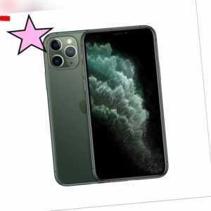 Apple iPhone i11 Pro 64GB Midnight Green Smartphone Händler versiegelt OVP NEU