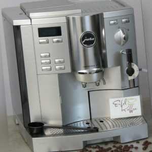 ~~~ Jura Impressa S9  Kaffeevollautomat platin mit...