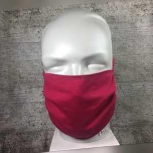 Unisex waschbare  Gesichts Maske Mund-Nasen-Abdeckung rot