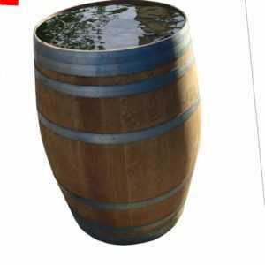 Wasserfaß Regentonne Holzfaß Eichenfaß Weinfaß gebraucht  absolut dicht 50-300 L