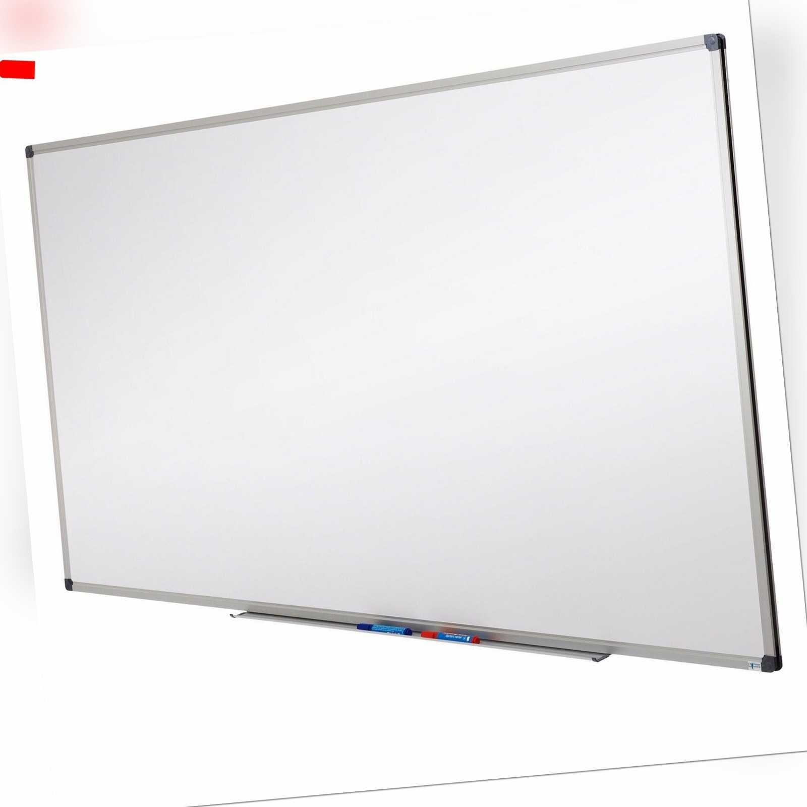 Whiteboard 90x60 | Schreibtafel Magnettafel Wandtafel |auch Zubehör zur Auswahl