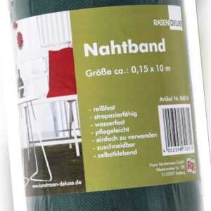 Nahtband Kunstrasen Grün Nahtklebeband Kunstrasenkleber Zuschneidbar 0,15 x 10 m