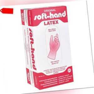 100 LATEX Handschuhe Einmal Einweghandschuhe puderfrei vers.Größen