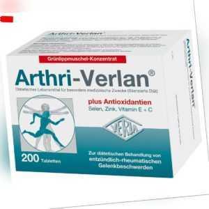 ARTHRI VERLAN Tabletten 200 St PZN:00193536