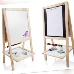 Kindertafel Standtafel Schreibtafel Maltafel Magnettafel Abakus Holz Tafel SOFIA