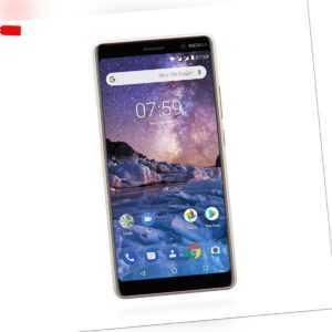 Nokia 7 Plus Dual Sim 64GB Kupfer weiß TOP MwSt nicht ausweisbar