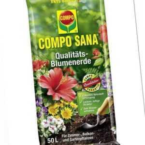Compo Sana Qualitäts-Blumenerde, 50 l  (0,46 EUR/l)