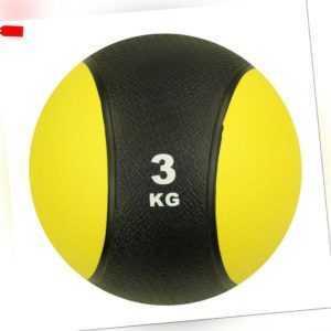 3 kg Medizinball Fitnessball Gymnastikball Slamball für Krafttraining Workout