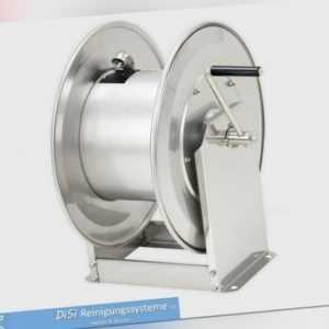 HDS Hochdruckreiniger Edelstahl Schlauchaufroller Schlauchtrommel