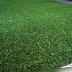 Rasenteppich Kunstrasen 25 mm Tuftrasen Gras verschiedene Größen NEU