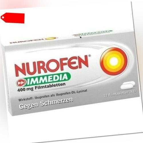 NUROFEN Immedia 400 mg Filmtabletten 12 St 08794442