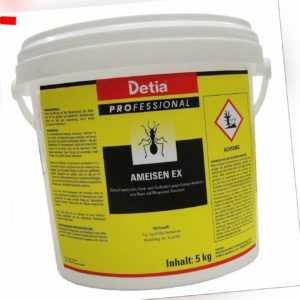 Detia Ameisen Ex Ameisengift Streu und Gießmittel Ameisenmittel Ameisenköder 5kg
