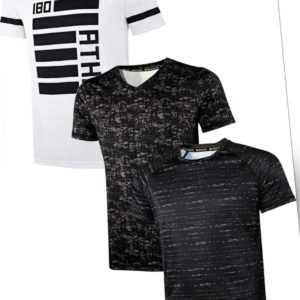 Crivit® Herren Funktionsshirts TOPCOOL® Sportshirt Funktionsshirt Sport T-Shirt