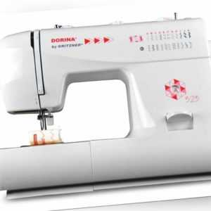 DORINA® by Gritzner® 323 Freiarm Nähmaschine mit 23 Nutz- und Zierstichen
