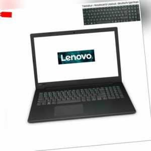 "Notebook 15,6"" Lenovo V145 AMD A4-9125 @2,6GHz 4-8GB DDR4 120-960GB SSD HD Win10"