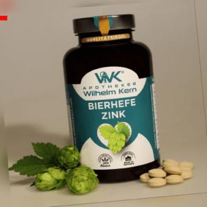 WILHELM KERN Bierhefe+Zink, 300 Tabletten