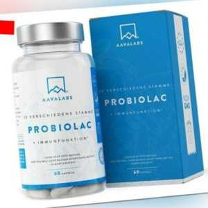 PROBIOLAC® Kulturen Komplex 30 Mrd KBE Je Tagesdosis 15 Darmbakterien 60 Vegan