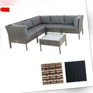 Polyrattan Lounge Set Rattan Gartenmöbelset Gartenset Sitzgruppe Gartenlounge
